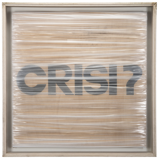 Umberto Mariani, 'Crisi?', 1990, Il Ponte