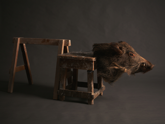 , 'Studio #4 (Le Voyage),' 2017, Galerie Kleindienst