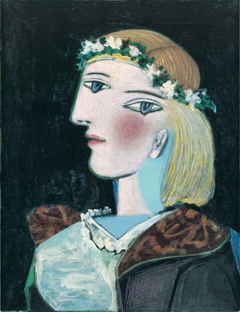 , 'Marie-Thérèse avec une guirlande,' 1937, Gagosian