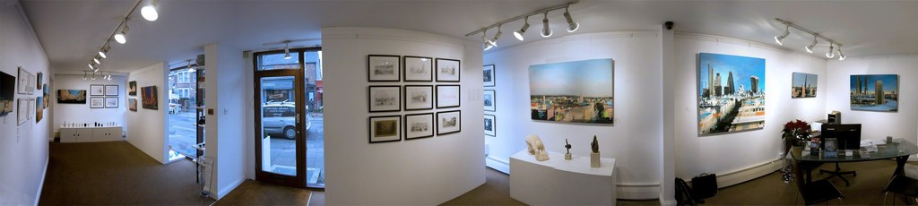 Christopher Farrell 'Vantage Point' Exhibition Panorama
