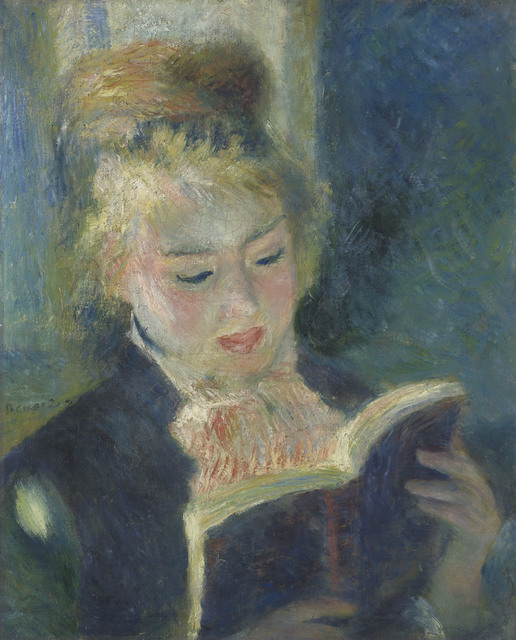 , 'The Reader ,' 1874-1876, The National Art Center, Tokyo