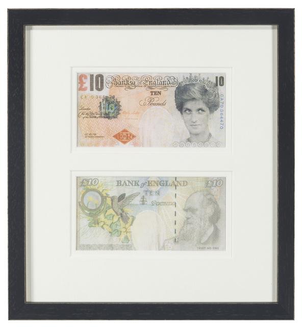 Banksy, 'Two Works: Di-Faced Tenner, Di-Faced Tenner', c.2005, John Moran Auctioneers