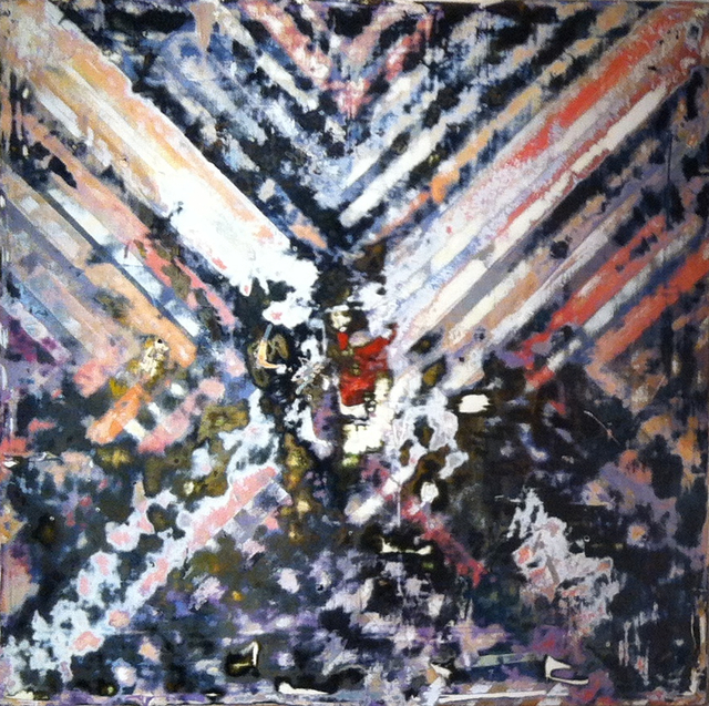 , 'Disrupted Diagonal Forms,' 2013, InLiquid