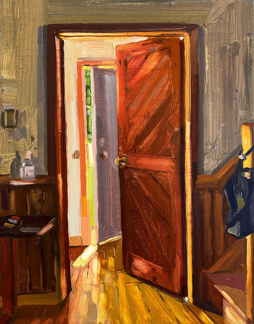 Keiran Brennan Hinton, 'Front Door', 2020, Painting, Oil on canvas, Galerie Nicolas Robert
