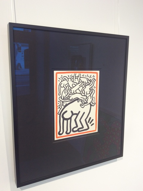 Keith Haring, 'Fight AIDS Worldwide', 1990, Joseph Fine Art LONDON