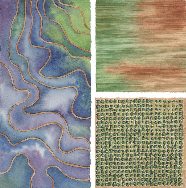 Elaine Bowers, 'Earth Quilt 5', Sparrow Gallery