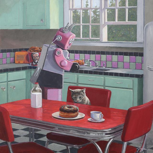 , 'Patience,' , Corey Helford Gallery