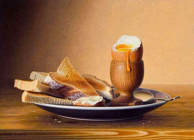 , 'Breakfast Egg,' 2018, Catto Gallery
