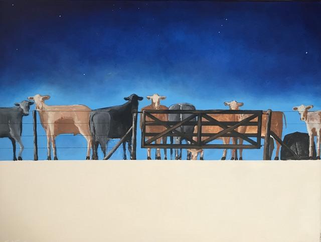 """Carlos Alberto Scaramella, '""""feedlots """" acrylic/canvas 060 x 080 año 2019', 2019, Pigalle Gallery"""