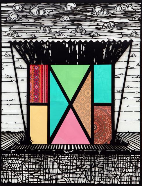 , 'Bushaltestelle ,' 2014, Galerie Kleindienst