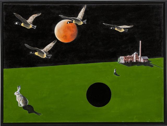 , ' A rabbit's dream,' 2017, BBA Gallery