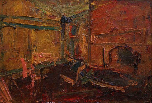 , 'Interior (ii),' 2017, Castlegate House Gallery