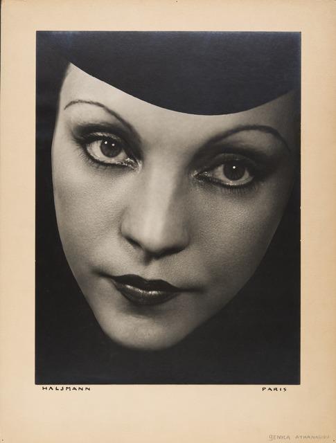 , 'Génica Athanasiou,' 1934, Jeu de Paume