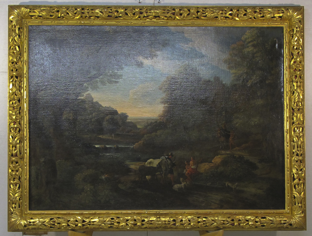 Gaspard Dughet, 'Roman Countryside', Glenn Green Galleries