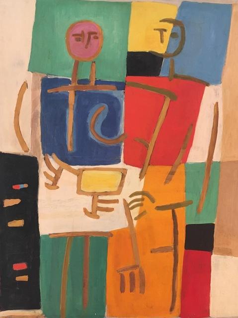 Carlos Carnero, 'l27', 1956, Painting, Oil on canvas, Galería de las Misiones