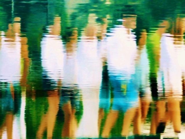Mehmet Günyeli, 'Serie Write on Water', 2014, Galerie Frank Pages