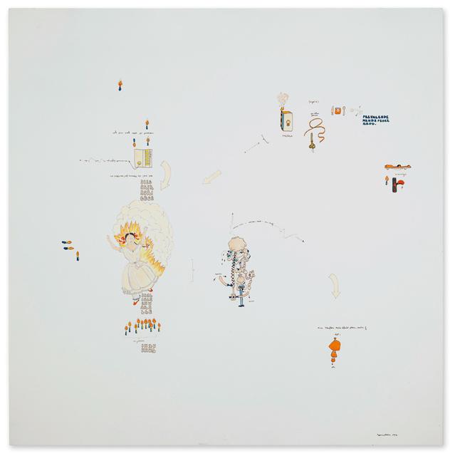 , 'Nuove letture edificanti,' 1972, Galerie Michael Hasenclever