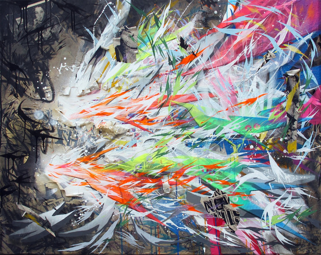 , 'Symphonies of Blinding Light 2.0,' 2013, Imitate Modern