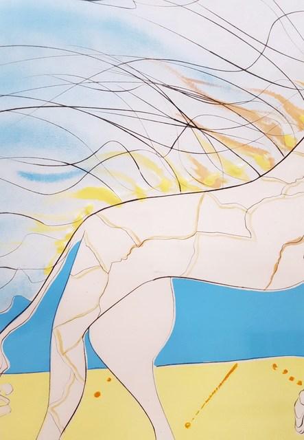 Salvador Dalí, 'Girafe Saturnienne (Saturnian Giraffe)', 1974, Print, Engraving, Lithograph, Embossing, Graves International Art