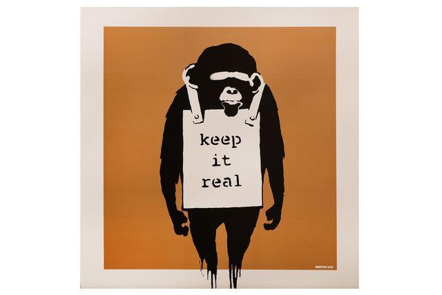 Banksy, 'Laugh Now (Bronze)', 2003, Print, Screenprint, Chiswick Auctions