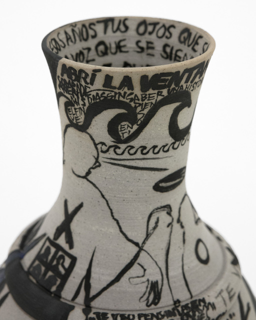María Paz, 'Tus Ojos Que Saben ', 2021, Sculpture, Ceramic and glaze, Bim Bam Gallery