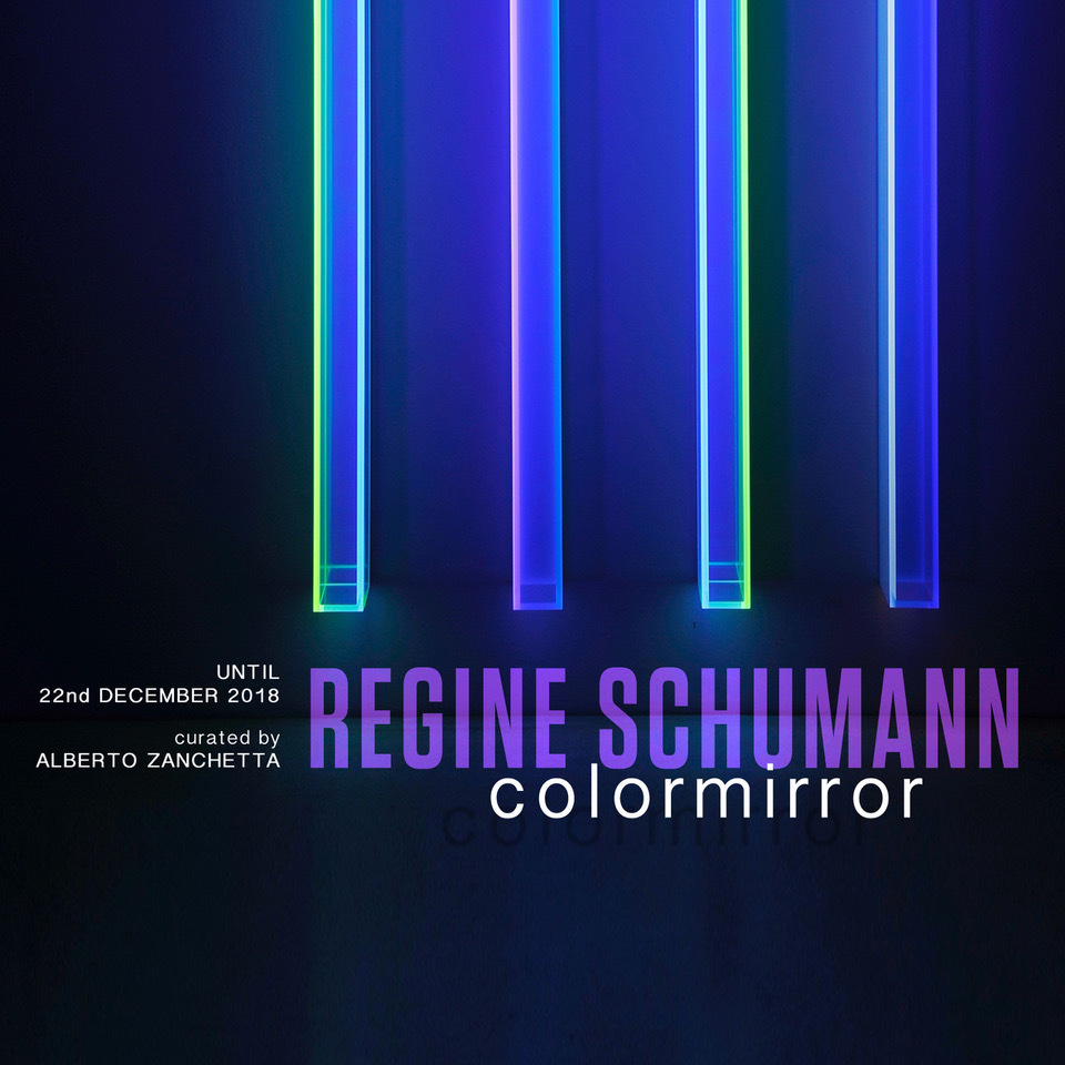 """With """"Colormirror"""", the first solo show in Italy by Regine Schumann, the Dep Art gallery in Milan continues with its research and promotion of mid-career artists. The exhibition presents from 30 October to 26 January the latest works of the artist."""