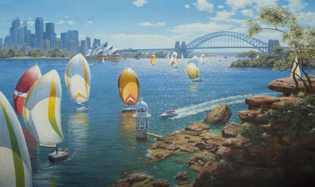 , 'Harbour Sails III,' 2015, Wentworth Galleries