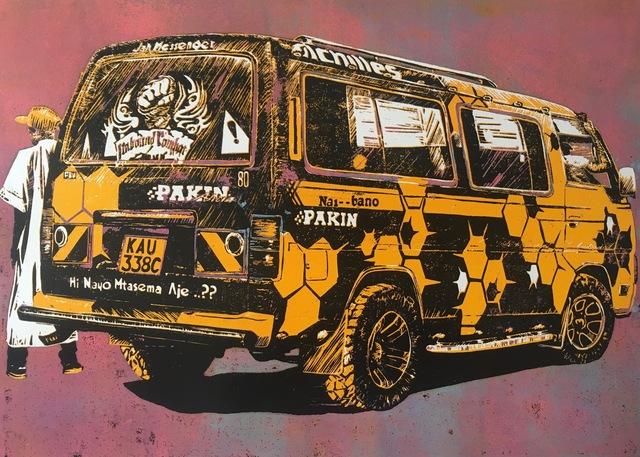 , 'Jah Messenger. Pakin Alicia Sacco. ,' 2018, Guzo Art Projects