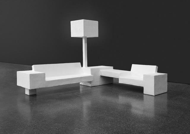 , 'Lounge Area (Le Brutalist #3),' 2015, Almine Rech