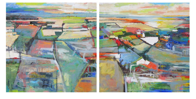 , 'Vicinity Diptych,' 2014, Seager Gray Gallery
