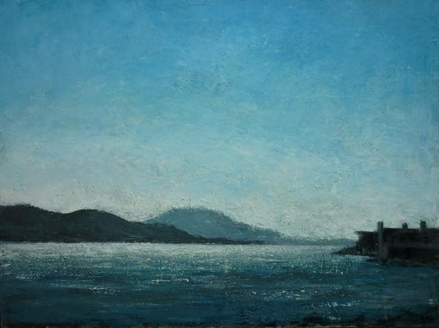 , 'Marine bleue,' 2016, Hugo Galerie