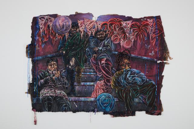 , 'Beginning-Past-0 (diptych),' 2019, Jack Bell Gallery
