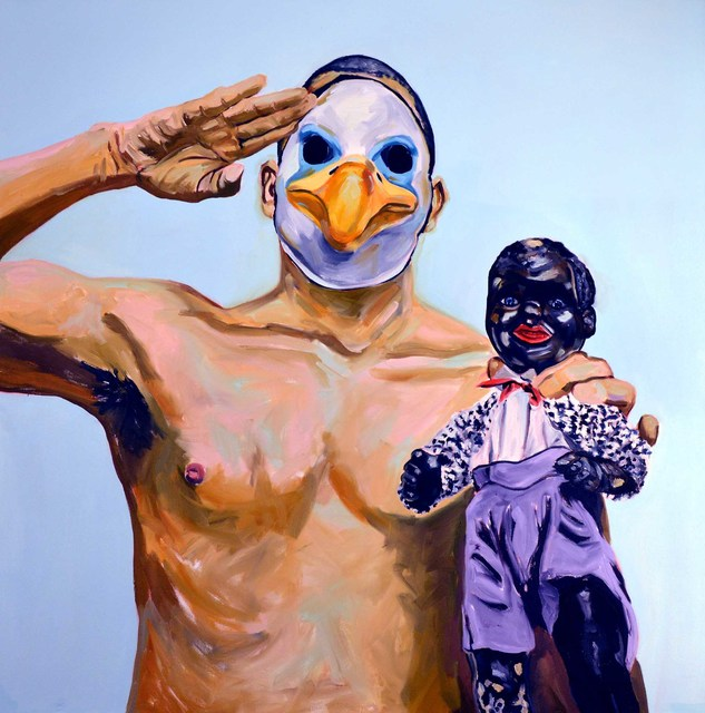 Michael Dixon, 'With Liberty and Justice for All', 2017, Painting, Oil on canvas, David Richard Gallery