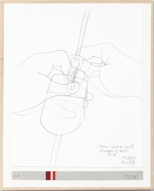 , 'Income's Outcome 285,' 2014, Galerie Michael Sturm