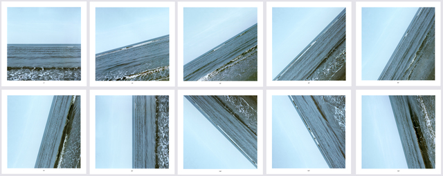 , 'Sea 0° - 135°,' 2009, Alan Cristea Gallery