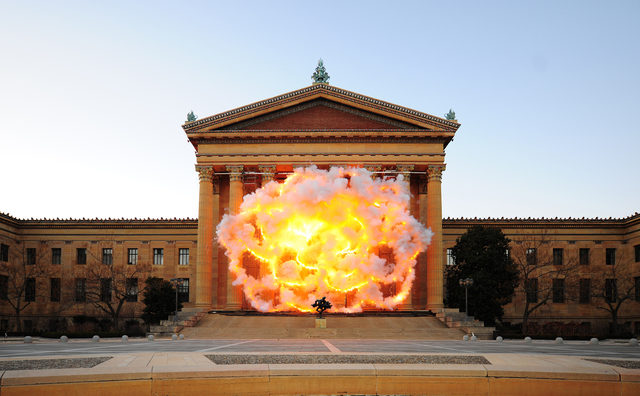 Cai Guo-Qiang, 'Fallen Blossoms: Explosion Project,' 2009, Cai Studio