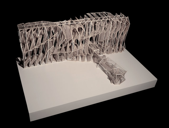 , 'Screenplay Architectural Model,' 2010-2012, Industry Gallery