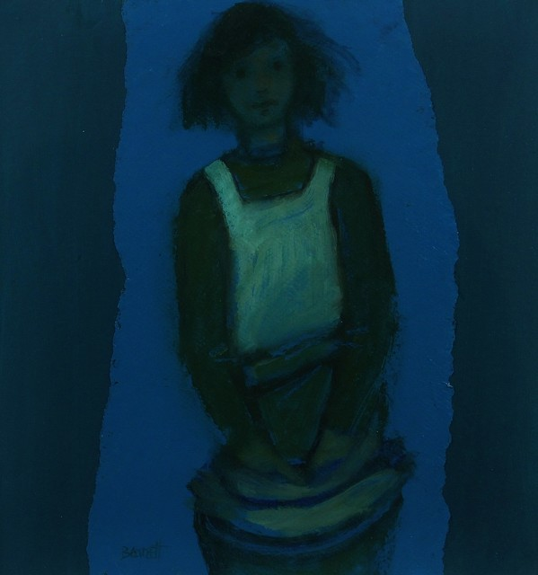 , 'Fifth study for Fisherman's Daughter,' 2011, Castlegate House Gallery