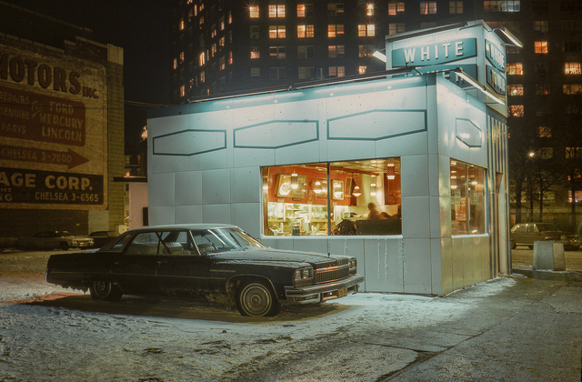 , 'White Tower Car, Buick LeSabre, Meatpacking District,' 1976, Jackson Fine Art