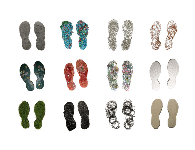Richelle Gribble, 'Eco Footprints', 2018, Jonathan Ferrara Gallery