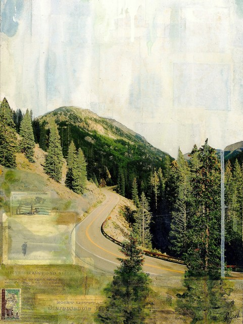 , 'Road to Aspen,' 2018, Abend Gallery
