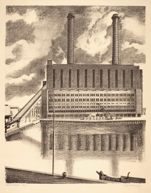 , 'Ansicht von Westen (BEWAG, Berlin),' 1931, Galerie Michael Hasenclever KG