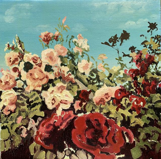 , 'Flores crema,' 2018, Victor Lope Arte Contemporaneo