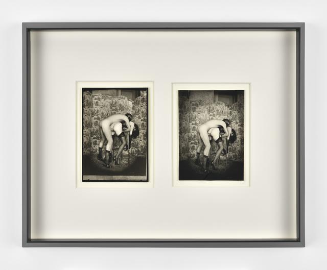 , 'Poupée violée / Double autoportrait in actum,' 1968, Galerie Christophe Gaillard