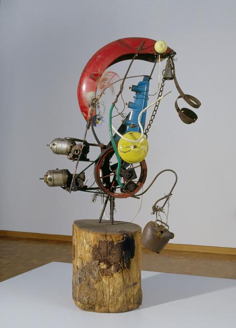 , 'Baluba No. 3,' 1961, Museum Kunstpalast