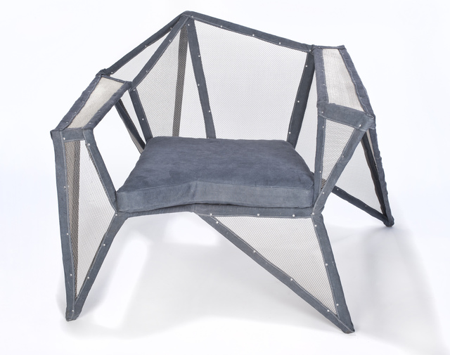 Benjamin Rollins Caldwell, 'Fencing Lounge Chair', 2011
