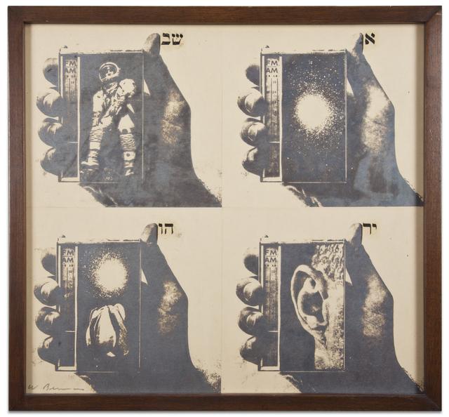, 'Untitled (A1-Astronaut),' 1974, Kohn Gallery