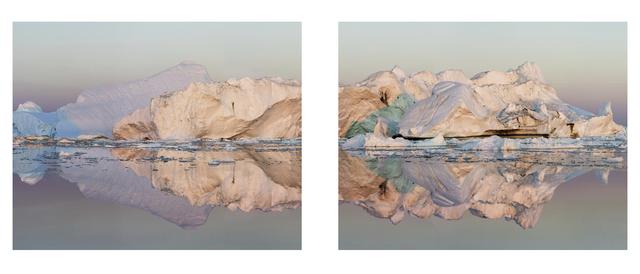 , 'Ilulissat 13, Diptych, 07/2015,' 2015, Huxley-Parlour