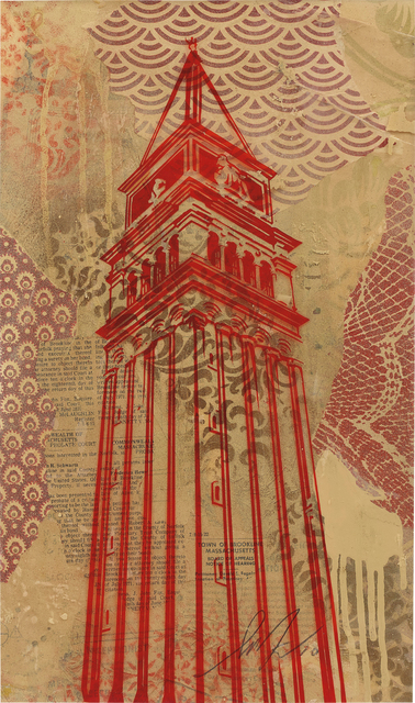 Shepard Fairey (OBEY), 'St. Marks Campanile', 2010, Phillips