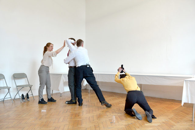 , 'Passive Aggressive 2, first performed Camden Arts Centre, London, 2014,' 2014, Southard Reid